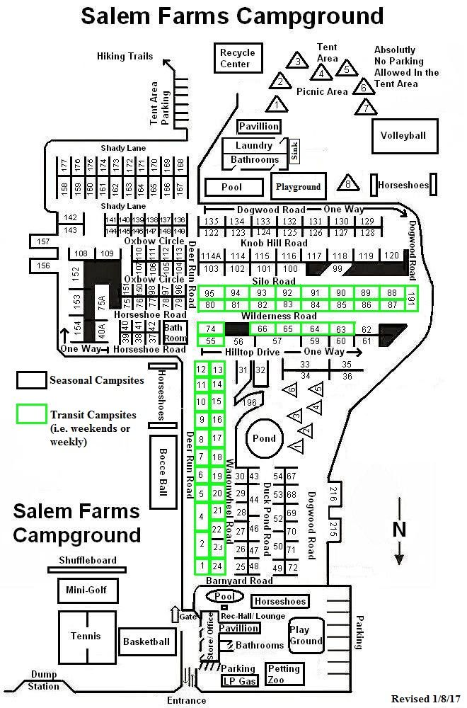 Campground Map Website
